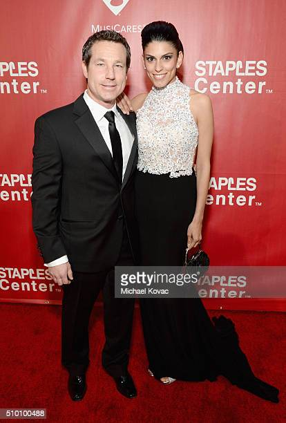 Chief Financial Officer of CMG Rich Davis and Nancy Davis attend the 2016 MusiCares Person of the Year honoring Lionel Richie at the Los Angeles...