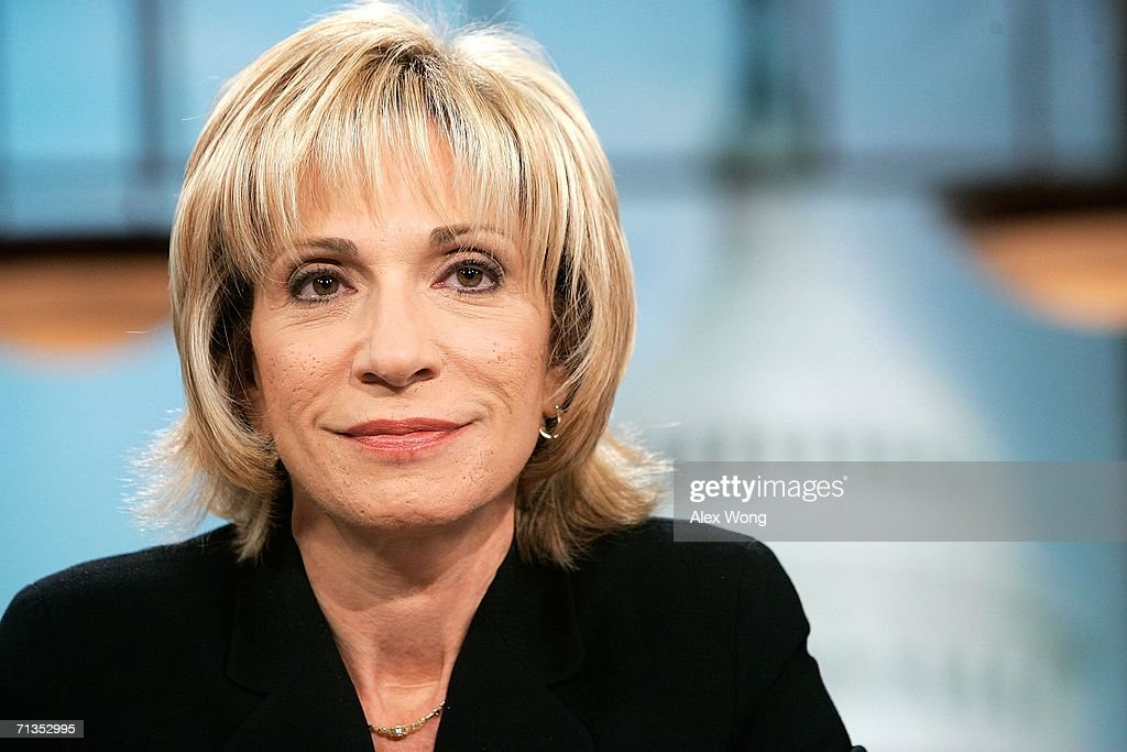 Andrea Mitchell Prepares For Meet The Press : News Photo