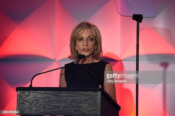 Chief Foreign Affairs Correspondent for NBC News and host of MSNBC's 'Andrea Mitchell Reports' Andrea Mitchell speaks at the 2014 Women in Cable...
