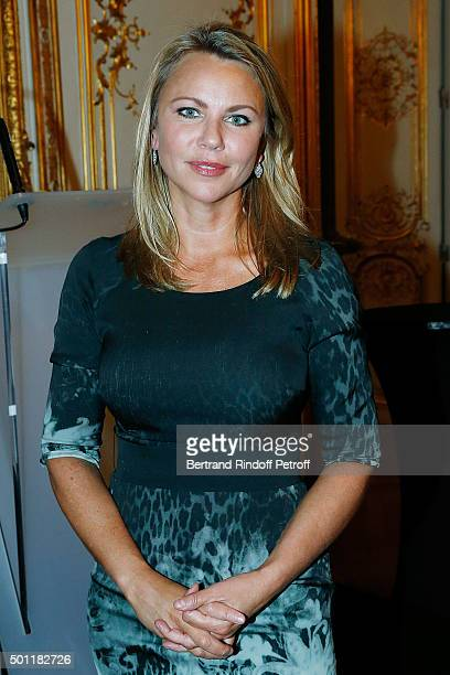Chief Foreign Affairs Correspondent Lara Logan at Laurence Haim Is Honoured With The Insignes De Chevalier De La Legion D'Honneur at Salons...