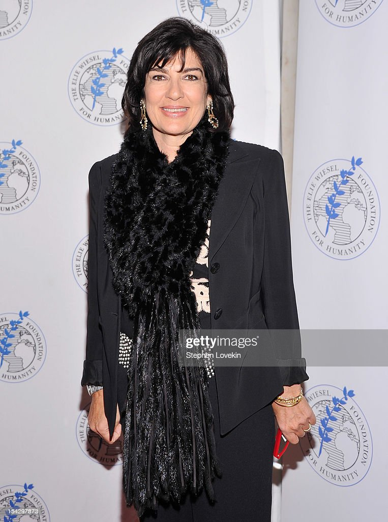 CNN chief international correspondent Christiane Amanpour attends the 2012 Arts For Humanity Gala at New York Public Library on October 17, 2012 in New York City.