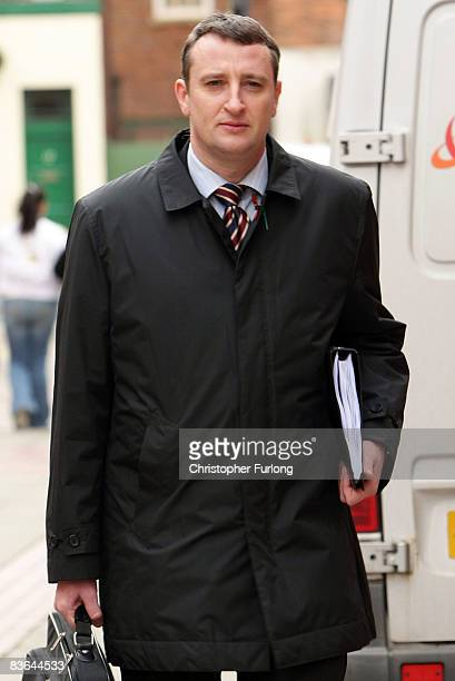 Chief investigating officer Detective Superintendent Andy Brennan arrives at Leeds crown court for the trial into the abduction of Shannon Matthews...