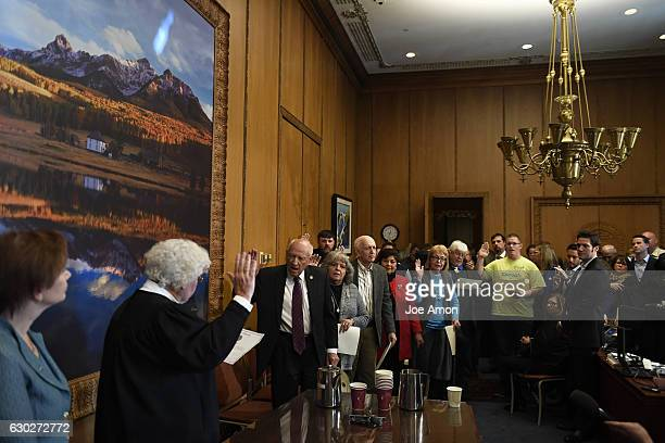 December 19: Chief Justice of the Colorado Supreme Court the Honorable Nancy E. Rice finally swears the Colorado members of the Electoral College at...