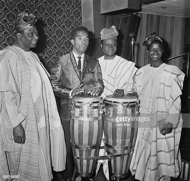 LR Chief Kos Are Jamaican singersongwriter and producer Prince Buster Lateef O Are A Mohammed Mubashiru Ali 26th April 1967