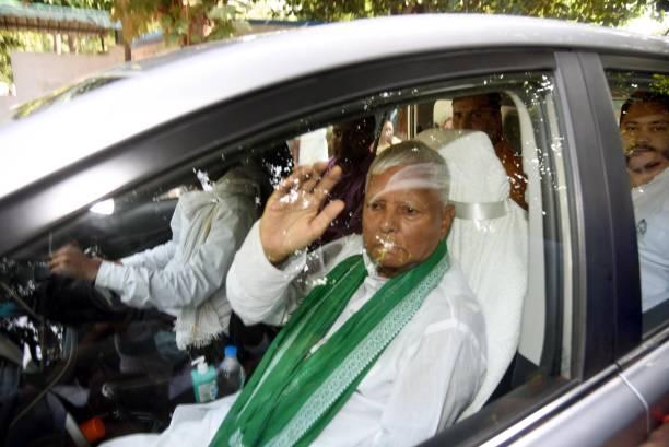 IND: RJD Chief Lalu Prasad Yadav Campaigns For Bihar Bypolls