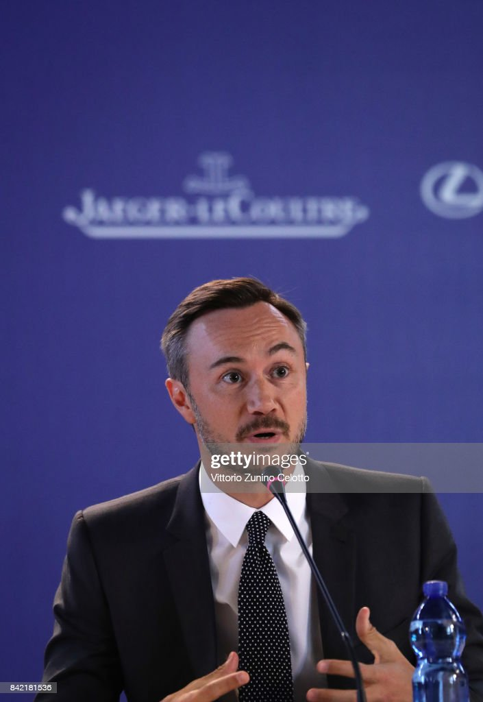 Chief Marketing Officer of Jaeger-LeCoultre Nicolas Siriez attends the Victoria & Abdul and Jaeger-LeCoultre Glory to the Filmmake Award Press Conference during the 74th Venice International Film Festival at Palazzo del Casino on September 3, 2017 in Venice, Italy.