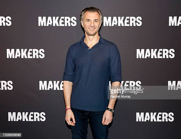 Chief Marketing Officer of Verizon Diego Scotti attends The 2020 MAKERS Conference on February 11 2020 in Los Angeles California