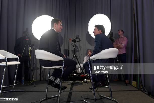 Chief Medical Officer of WebMD Dr. John Whyte M.D. Is interviewed during the 2018 Concordia Annual Summit - Day 1 at Grand Hyatt New York on...