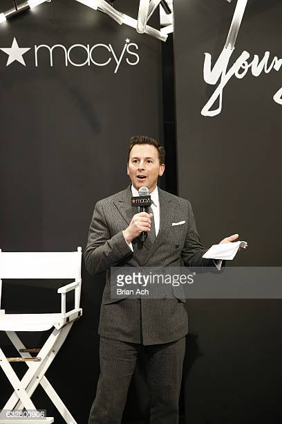 Chief Merchandising Officer at Macy's Tim Baxter speaks as Macy's celebrates the 50th Anniversary of the Mayor's Office Of Media And Entertainment...