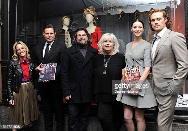 Chief Merchant at Saks Fifth Avenue Tracy Margolies Executive VP at Saks Fifth Avenue Mark Briggs 'Outlander' Executive Producer Ronald D Moore...