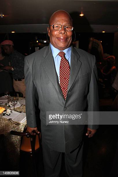 Chief Minister Hubert Hughes of Anguilla attends a private dinner at Mr Chow on June 5 2012 in New York City