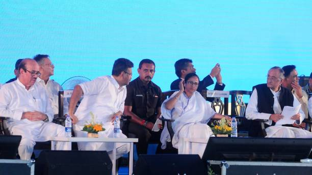IND: West Bengal CM Mamata Banerjee Attends An Event Of Micro Tanneries Hub And Industrial Co-Operative Society