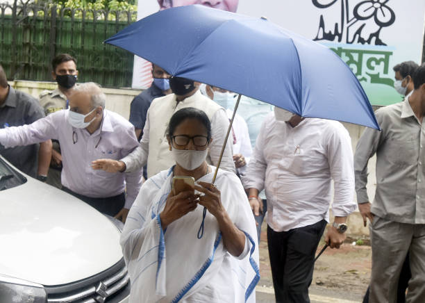 IND: West Bengal Mamata Banerjee Meets Prime Minister Narendra Modi