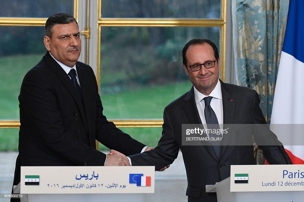 FRANCE-SYRIA-CONFLICT : Nachrichtenfoto
