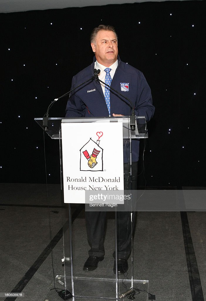 Chief of Executive Officer of Doug McGregor attends The New York Rangers 19th Annual 'Skate With The Greats' Event Benefiting The Ronald McDonald House New York at The Rink at Rockefeller Center on February 1, 2013 in New York City.
