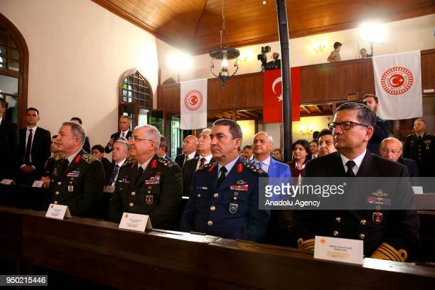 Chief of General Staff of Turkish Armed Forces Gen Hulusi Akar Commander of the Turkish Land Forces Yasar Guler Commander of the Turkish Air Forces...