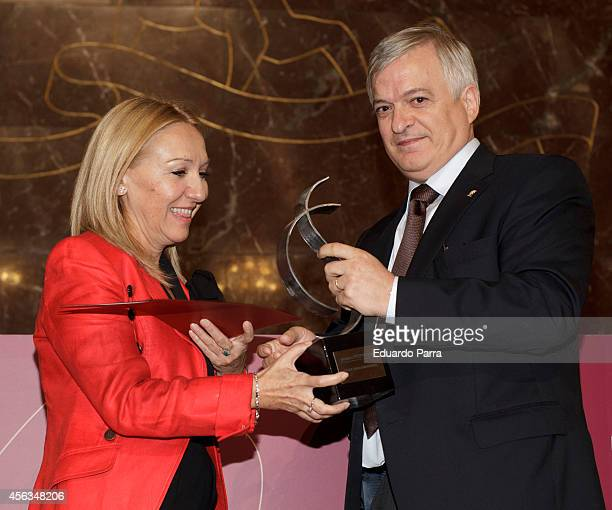 Chief of Genetics at the Jimenez Diaz Foundation Carmen Ayuso attends FEDEPE Awards 2014 at The CSIC on September 29 2014 in Madrid Spain