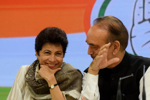 IND: Press Conference Of Congress Senior Leaders