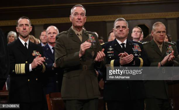 Chief of Naval Operations Adm John Richardson Chairman of the Joint Chiefs of Staff Gen Joseph Dunford Chief of Staff of the Army Gen Mark Milley and...