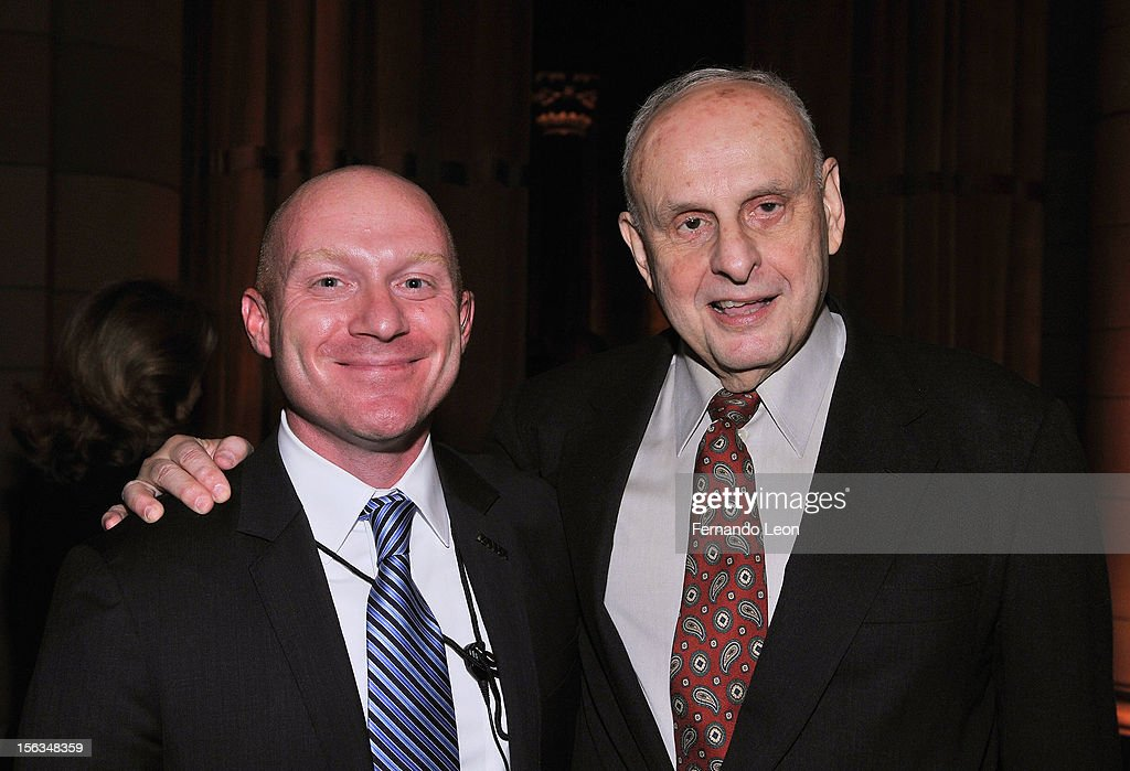 Chief of Staff and Iraq veteran Derek Bennett (L) and IAVA board member Les Gelb attend IAVA's Sixth Annual Heroes Gala at Cipriani 42nd Street on November 13, 2012 in New York City.