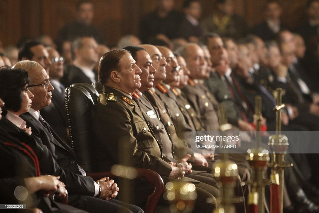 Chief of Staff of the Egyptian armed for : News Photo