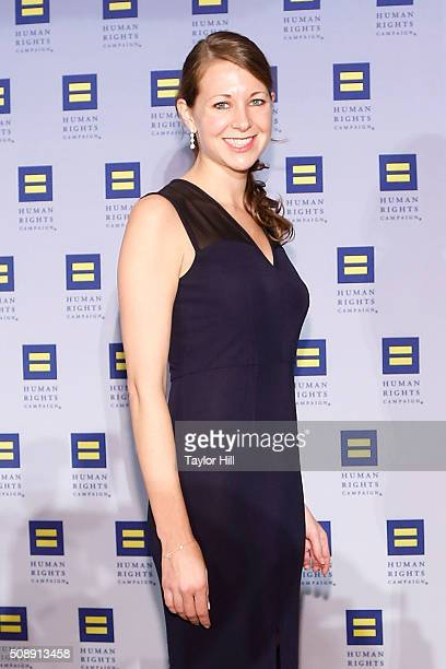 Chief of Staff to Andrew Cuomo Melissa DeRosa attends the 2016 HRC New York Gala Dinner at The Waldorf=Astoria on February 6 2016 in New York City