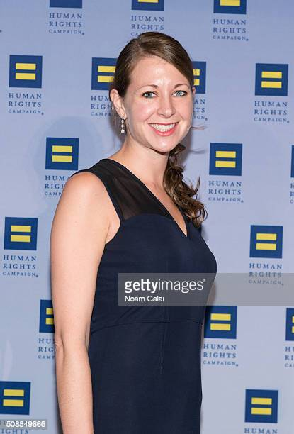 Chief of staff to the New York Governor Melissa DeRosa attends the 2016 Human Rights Campaign New York gala dinner at The Waldorf=Astoria on February...