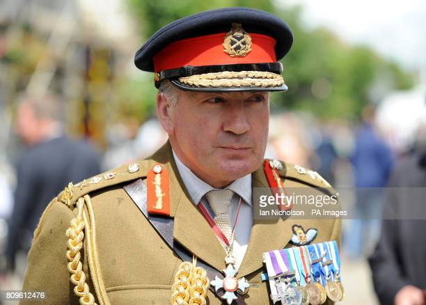 Chief of the General Staff, General Sir Richard Dannatt, during the repatriation of Lieutenant Colonel Rupert Thorneloe - the most senior British...