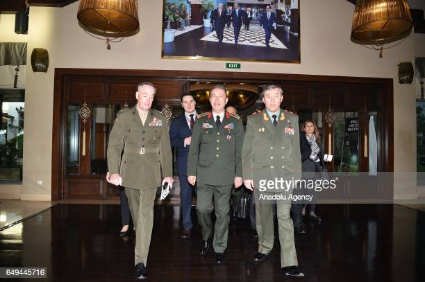 Chief of the General Staff of the Turkish Armed Forces Hulusi Akar Chief of the General Staff of the Russian Armed Forces General Valery Gerasimov...