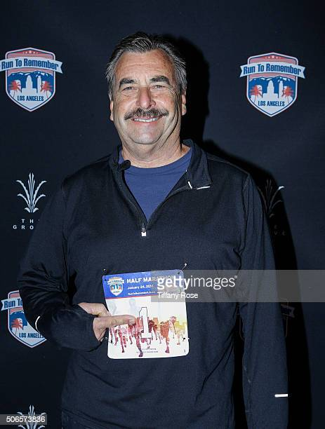 Chief of the LAPD Charlie Beck attends Run To Remember Los Angeles at The Grove on January 24, 2016 in Los Angeles, California.