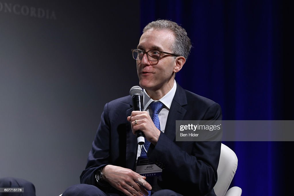 Chief of the Melanoma and Immunotherapeutics Service, Memorial Sloan-Kettering Memorial Cancer Center, Dr. Jedd Wolchok speaks at the 2016 Concordia Summit - Day 1 at Grand Hyatt New York on September 19, 2016 in New York City.
