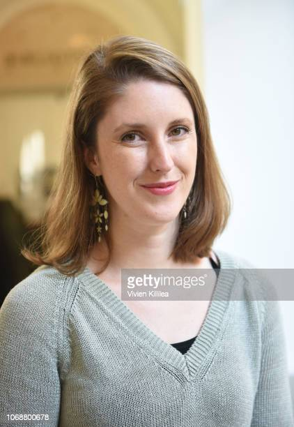 Chief Offier of Impact Productions Lisa Madison attends a screening of Thomas Morgan's Soufra at Pontifical Orientale Institute on December 5 2018 in...