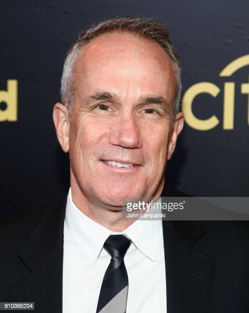 Chief Operating Officer and CoChairman of Warner Music Tom Carson attends 2018 Billboard Power 100 List at Nobu 57 on January 25 2018 in New York City