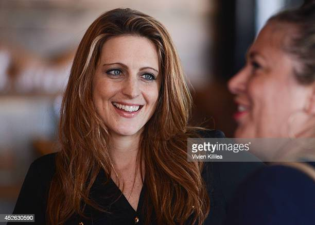 Chief operating officer at Howard Stern Show Channels Marci Turk attends the Howard 101 ComicCon Party at Bootleggers on July 24 2014 in San Diego...