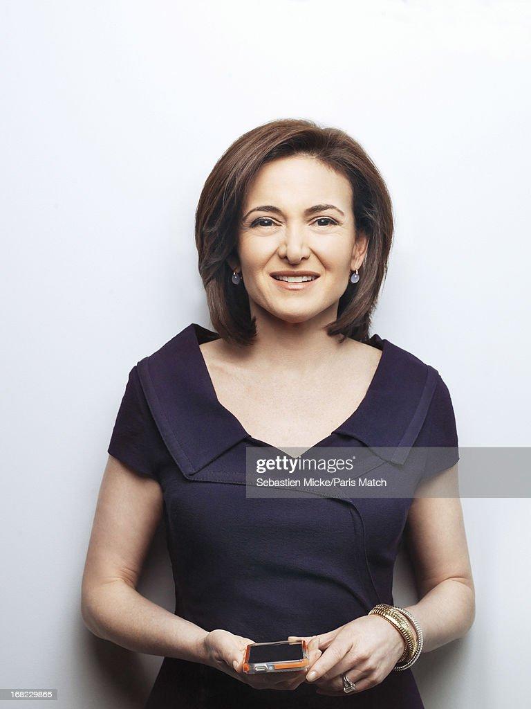 Sheryl Sandberg, Paris Match, Issue 3337