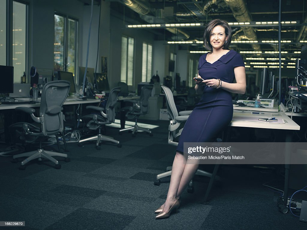 Sheryl Sandberg, Paris Match, Issue 3337