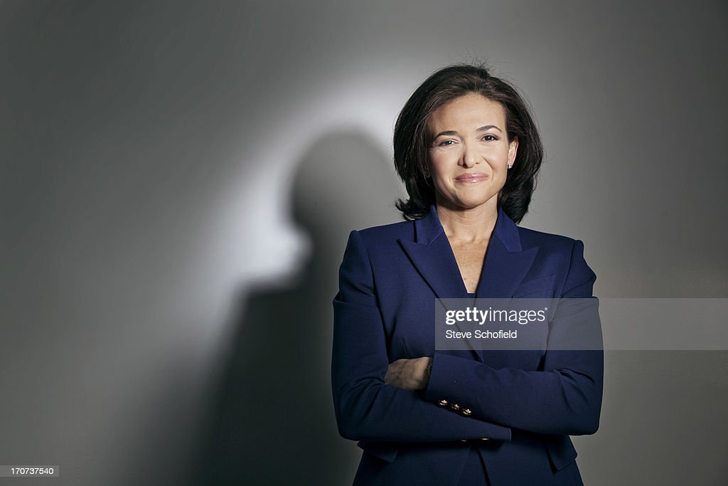 Chief operating officer of Facebook, Sheryl Sandberg is photographed for the Times on January 31, 2013 in Los Angeles, California.
