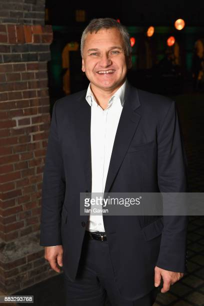 Chief Operating Officer of Kaspersky Lab Andrey Tikhonov attends a Christmas Dinner With Eugene Kaspersky on November 30 2017 in Amsterdam Netherlands