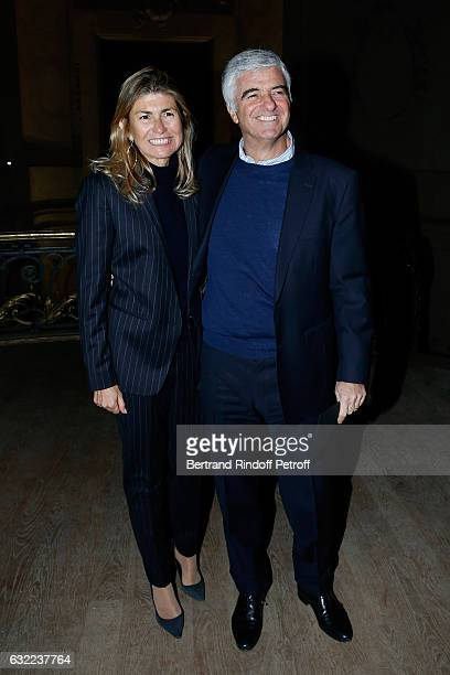 Chief Operating Officer of LVMH Group Antonio Belloni attend the Berluti Menswear Fall/Winter 20172018 show as part of Paris Fashion Week on January...