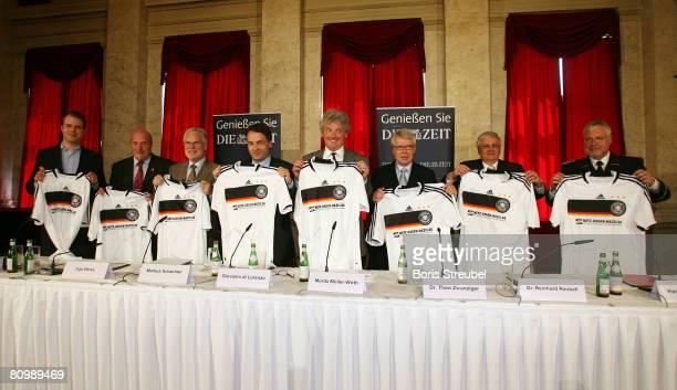 Chief operating officer of the studiVZ Ltd. Michael Brehm, member of the German Olympic Sports Federation Ingo Weiss, chief director of the german tv...