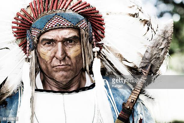 chief - headdress stock pictures, royalty-free photos & images