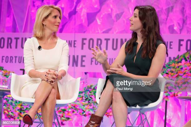 Chief Political Correspondent Dana Bash and CNN Political Commentator Mary Katharine Ham speak onstage at the Fortune Most Powerful Women Summit Day...