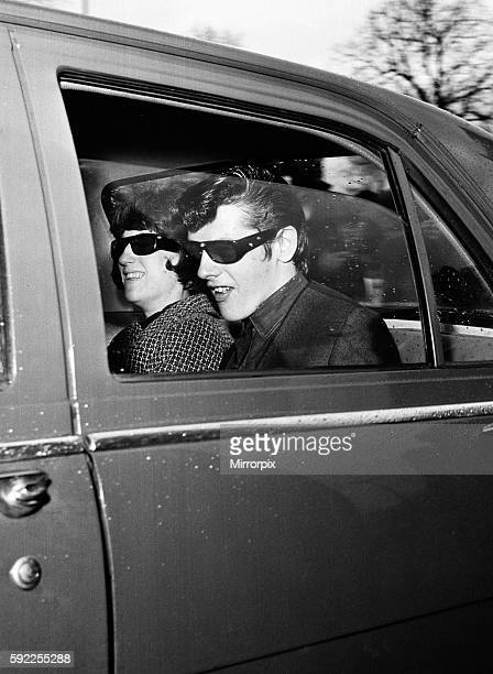 Chief Prosecution Witness David Smith and his wife Maureen arriving at court to give evidence in the moors murder trial of Ian Brady and Myra Hindley...