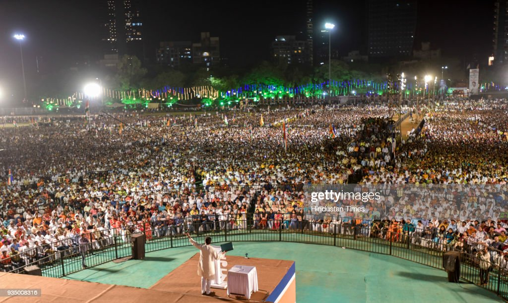 MNS Chief Raj Thackeray Address MNS Rally At Shivaji Park