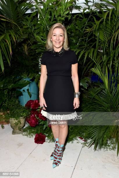 Chief Revenue Officer of Artsy Nina Lawrence attends the Gucci X Artsy dinner at Faena Hotel on December 6 2017 in Miami Beach Florida