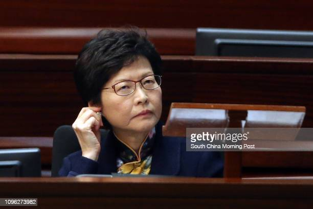 Chief Secretary Carrie Lam Cheng Yuetngor has a meeting on medical reform in Tamar 06JUL16 SCMP/ David Wong