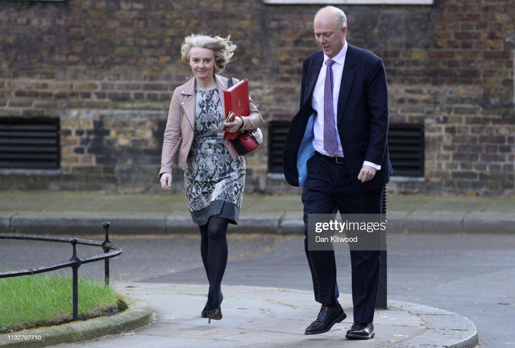 Theresa May's Future Hangs In The Balance : News Photo