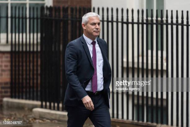 Chief Secretary to the Treasury Stephen Barclay arrives in Downing Street to attend the weekly Cabinet meeting in London, United Kingdom on September...