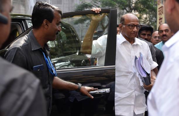IND: NCP Leaders Meet At YB Chavan Centre