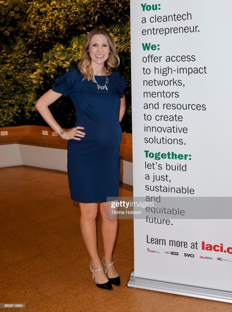 Chief Sustainability Officer Lauren Faber O'Conner attends the Los Angeles Cleantech Incubator celebration of new CEO Matt Petersen on October 19, 2017 in Los Angeles, California.